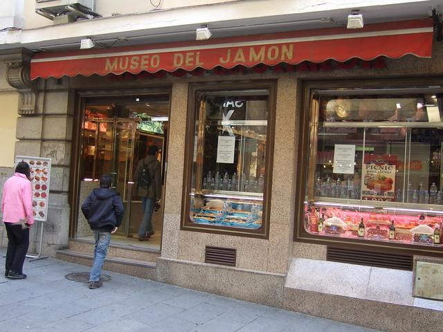 Museo del Jamon  Flickr - Photo Sharing!