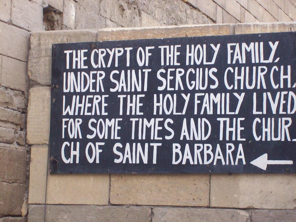 Holy Family Crypt