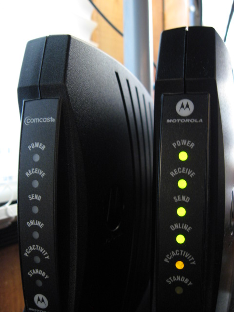 New Cable Modem | Flickr - Photo Sharing!