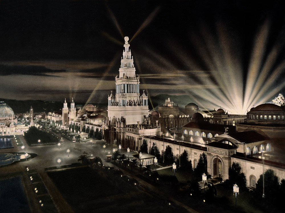 Tower of Jewels, Panama Pacific International Exhibition, 1915