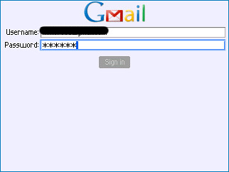 Google Mail (login)