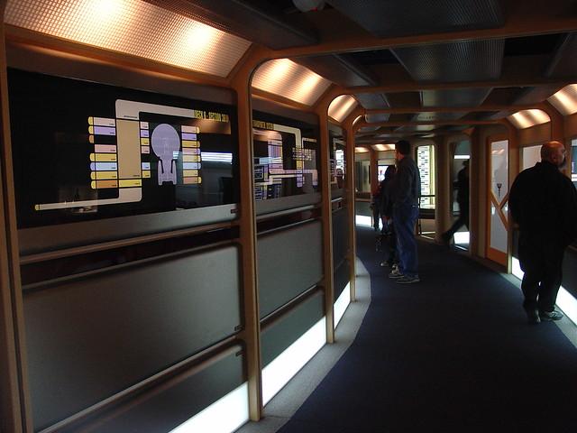 Corridor image - Star Trek: The Argas Effect mod for Star ... |Uss Enterprise Corridors
