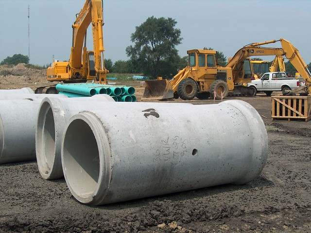Concrete Sewer Pipe Sizes : Reinforced concrete pipe flickr photo sharing