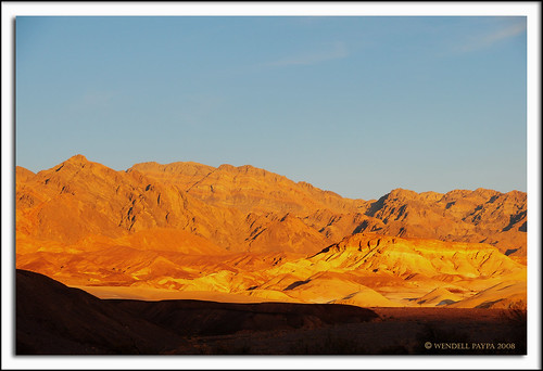 Sunrise at Furnace Creek, Death Valley National Park