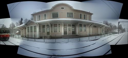 Huopalahti station house