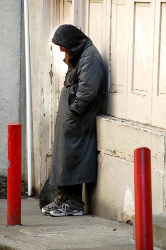 crazy homeless man essay