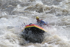kayaking(0.0), whitewater kayaking(0.0), vehicle(1.0), sports(1.0), rapid(1.0), river(1.0), recreation(1.0), outdoor recreation(1.0), watercraft rowing(1.0), boating(1.0), extreme sport(1.0), water sport(1.0), boat(1.0), raft(1.0), rafting(1.0),