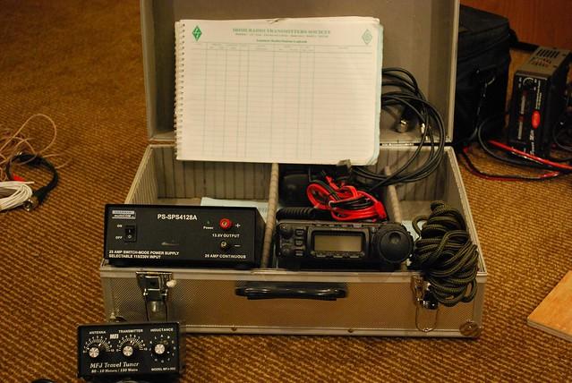 Amateur radio go kits