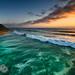"High Tide from Ocean Beach Pier by Scott Stringham ""Rustling Leaf Design"""