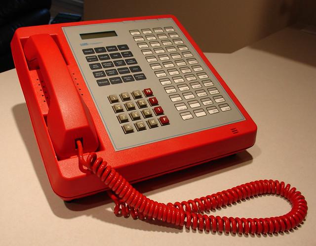 Electrospace Autovon Phone #2