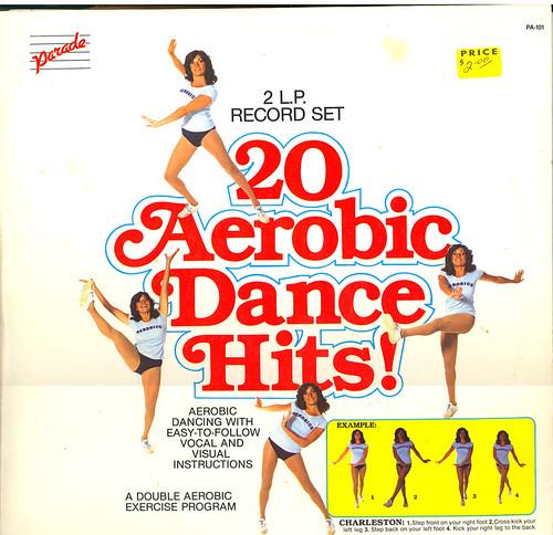 20 Aerobic Dance Hits album cover
