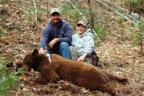 November 23-25 2007 bear hunting