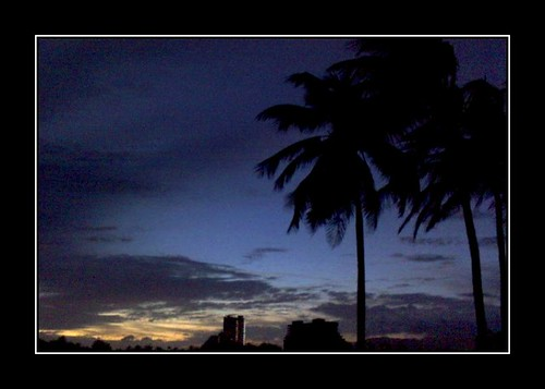 sunset cloud beach nature landscape atardecer mar venezuela playa paisaje margarita nube porlamar lacaracola jr2v