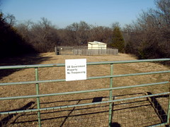 no trespassing on government property