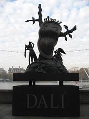 Dali Statue