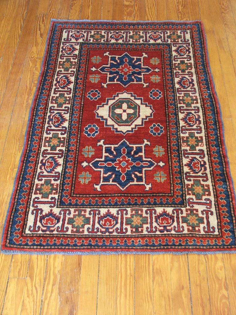 Oriental Rug Afghan Uzbek