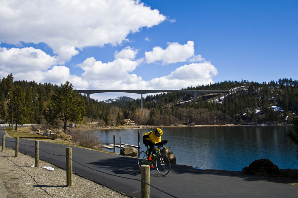 Biking the Centennial Trail, photo by 29k Productions
