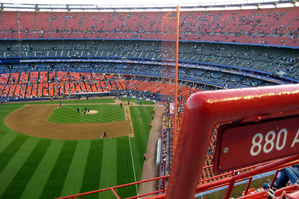 NYC - Queens - Flushing: Shea Stadium - View from the Upper Deck