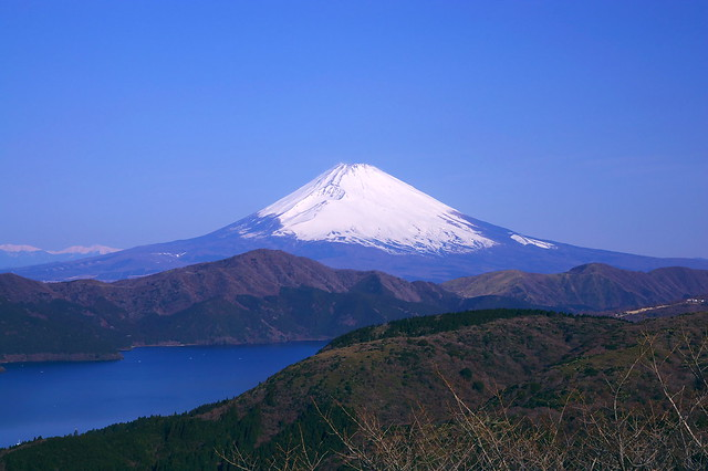 Mt.Fuji and Lake Ashinoko