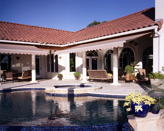 Patio Awnings  Retractable Awnings : Durasol : U.S. Blinds