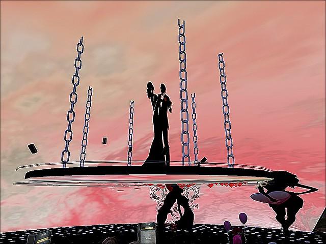 SLSC - Valentine's Day Dance - Silhoutte Black Rose Lapel