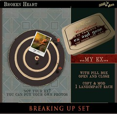 Lilith's Den - Broken Heart - Breaking Up Set - My Ex