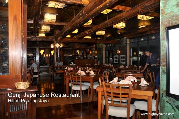 Genji Japanese Restaurant Hilton Petaling Jaya 14