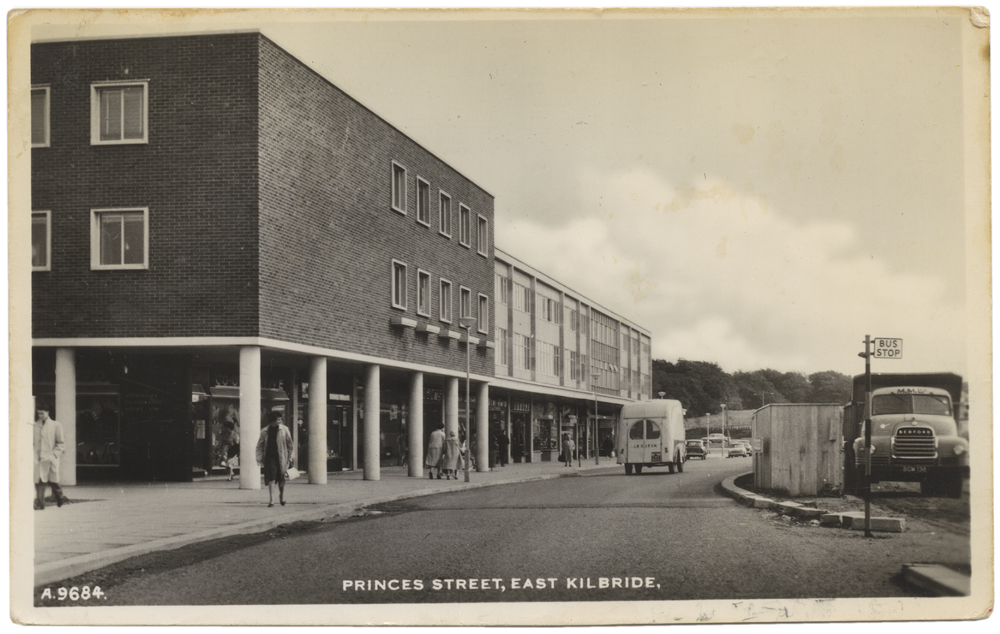 east kilbride postcard