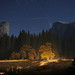 Yosemite Valley at Night by halfninja