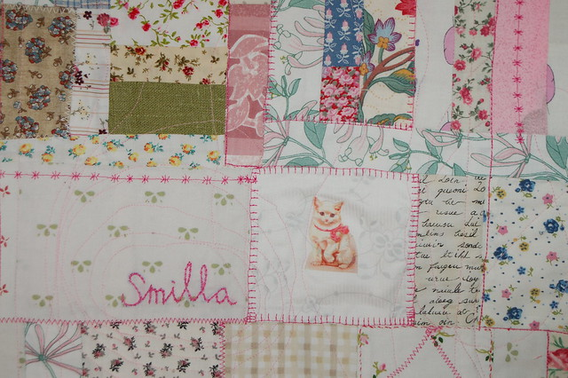 Smilla's quilted blanket made by iHanna - Copyright Hanna Andersson