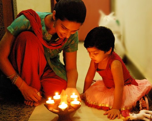 Diwali - festival of light.