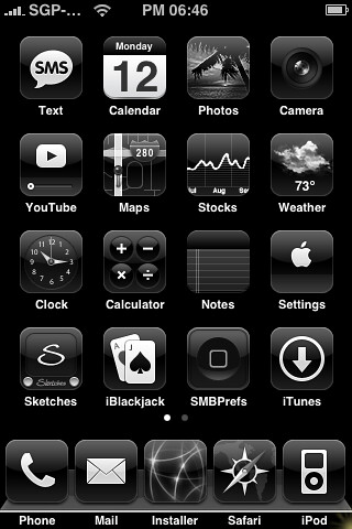 all black iphone black iphone theme my new all black 1 1 1 iphone by 10053