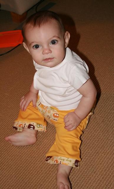 Reverse Crescents Pants