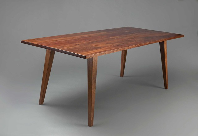 Dining table mid century modern dining table for Modern dining table