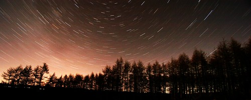 star trails at gartly moore | by stevegentle