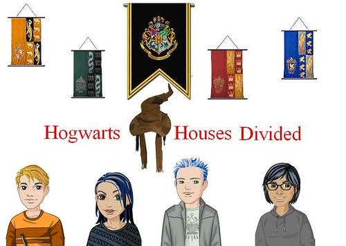 Hogwarts Houses Divided