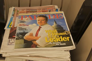 What it means to be a leader by Senator Jim Webb