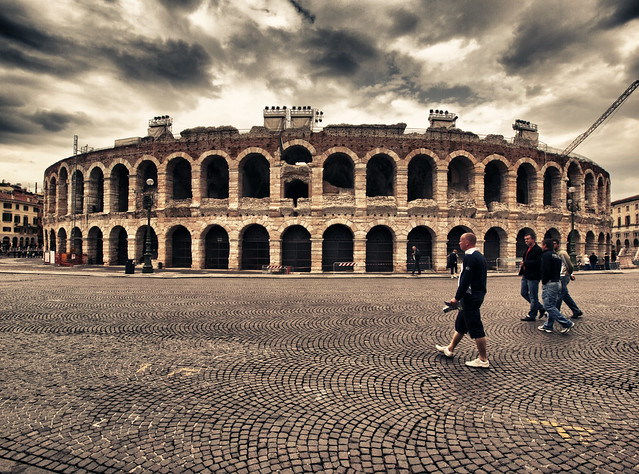 Arena in Verona, Italy