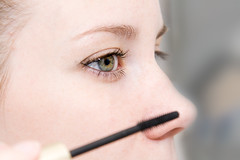 chin(0.0), lip(0.0), human body(0.0), nose(1.0), eye liner(1.0), face(1.0), skin(1.0), head(1.0), eyelash(1.0), cheek(1.0), eyelash extensions(1.0), close-up(1.0), eyebrow(1.0), forehead(1.0), beauty(1.0), cosmetics(1.0), eye(1.0), organ(1.0),