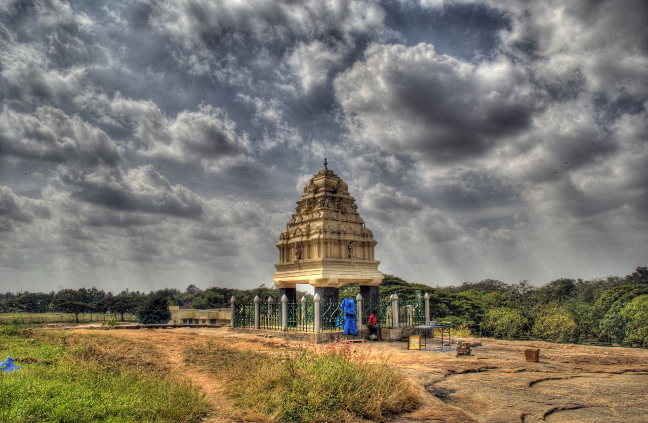 Shrine at lalbagh garden bangalore india a photo on for Gardening tools bangalore