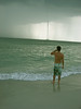 Tornado We were swimming