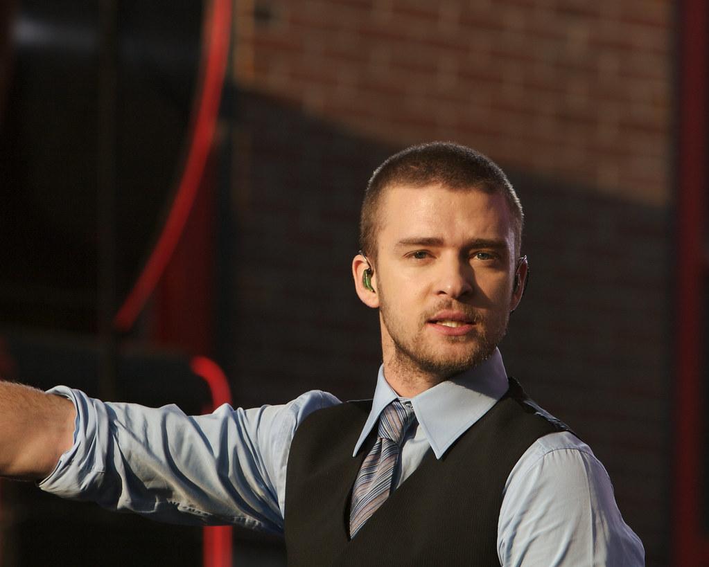 Justin Timberlake on Beale St.