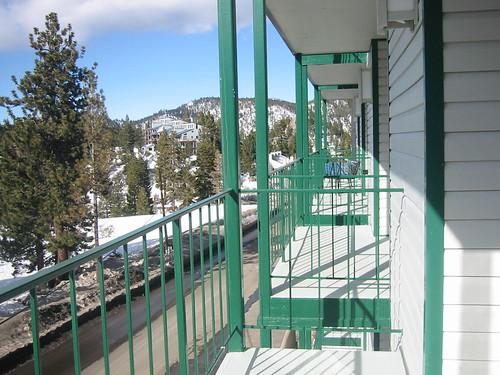 snow ski tahoe deck condo