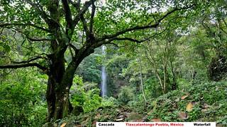 Cascada en Tlaxcalantongo