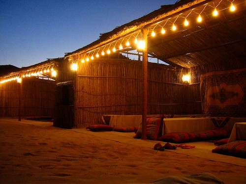 23 Our bedouin tented camp