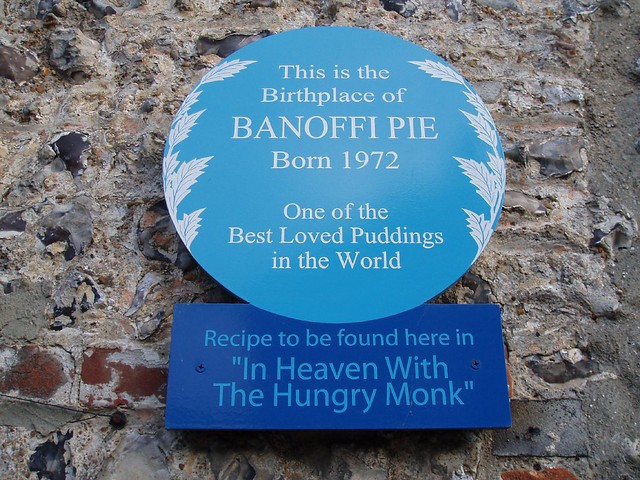 Photo of Banoffi Pie blue plaque