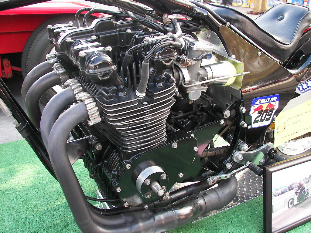 Drag Bike Engine