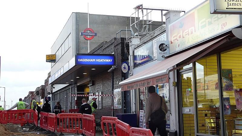 Dagenham Heathway Underground Station