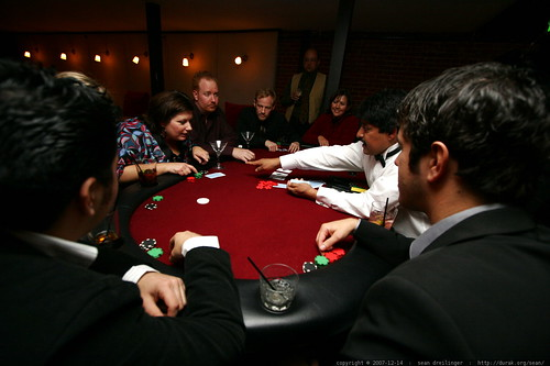at the back room, upstairs, high stakes, texas hold em poker table    MG 6975