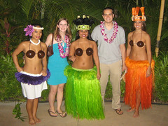 Hula Dancers & us